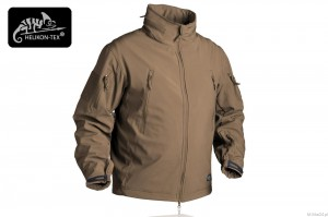 Kurtka Gunfighter Shark Skin Windblocker Helikon - Coyote Brown