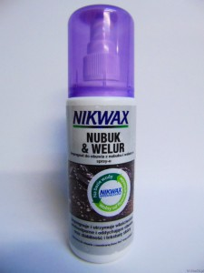 Impregnat w spray'u do Nubuku i Zamszu Nikwax 125ml