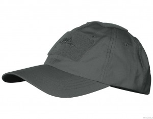 CZAPKA BASEBALL - POLYCOTTON RIPSTOP SHADOW GREY
