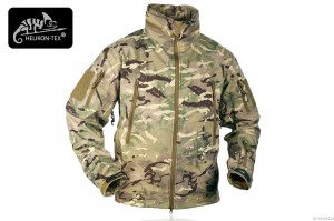 Kurtka Gunfighter Shark Skin Windblocker Helikon - MP Camo