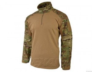 Bluza Texar Combat Shirt MC-Camo