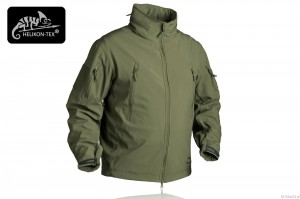 Kurtka Gunfighter Shark Skin Windblocker Helikon - Olive Green