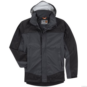 Kurtka 5.11 Tactical Tac Dry Rain Shell Jacket Charcoal