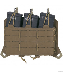 Panel Direct Action Spitfire Triple Rifle Magazine Flap - Coyote Brown