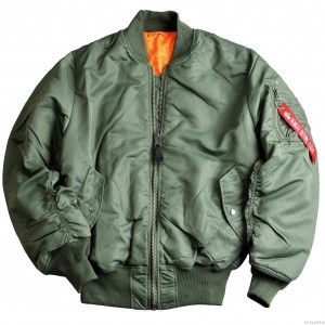 Kurtka MA-1 Flight Jacket - Alpha Industries - Sage Green
