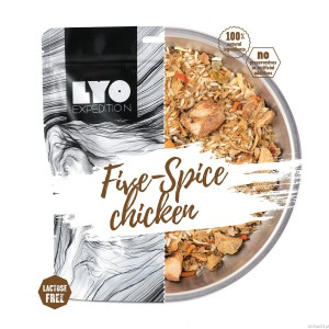 LYO Expedition Five-Spice chicken
